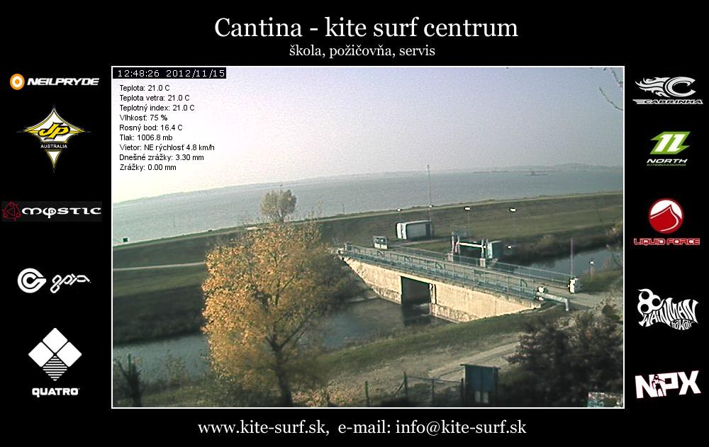 Webcam Surf centrum Cantina - LIVE